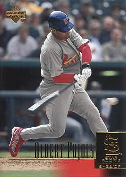 Albert Pujols Upper Deck Rookie Card