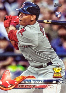 Rafael Devers Rookie Card