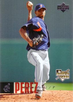 2006 Upper Deck Rafael Perez Rookie Card
