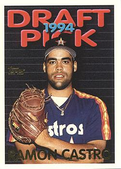 1995 Topps Ramon Castro Rookie Card