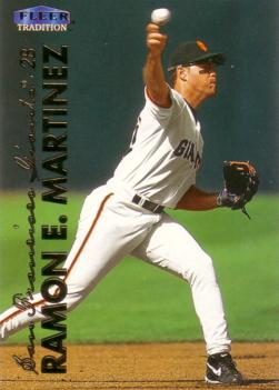 Ramon E Martinez Rookie Card