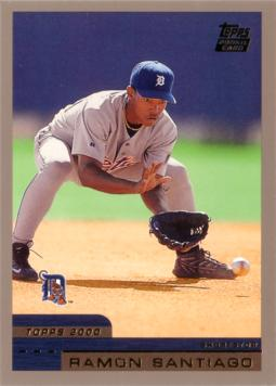 2000 Topps Traded Ramon Santiago Rookie Card
