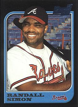 1997 Bowman Randall Simon Rookie Card