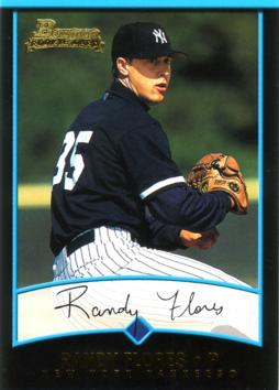2001 Bowman Draft Picks Randy Flores Rookie Card