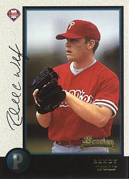 1998 Bowman Randy Wolf Rookie Card