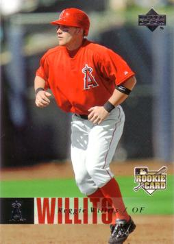 2006 Upper Deck Reggie Willits Rookie Card