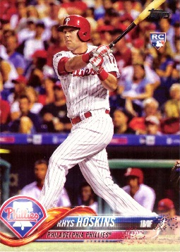 Rhys Hoskins Rookie Card