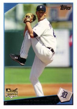 2009 Topps Rick Porcello Rookie Card
