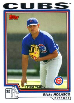 2004 Topps Traded Ricky Nolasco Rookie Card