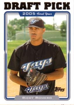 Ricky Romero Rookie Card