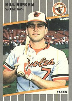 "1989 Fleer Billy Ripken ""F-ck Face"" Error Card"
