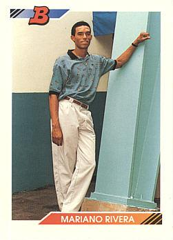 Mariano Rivera Rookie Card