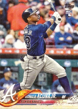 Ronald Acuna Jr. Rookie Card