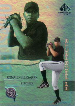 2004 SP Prospects Ronald Belisario Rookie Card