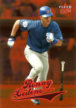2004 Ultra Ronny Cedeno Rookie Card