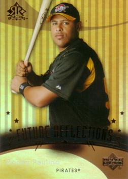 2005 Upper Deck Reflections Ronny Paulino Rookie Card
