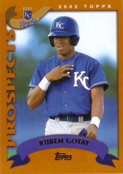 2002 Topps Traded Ruben Gotay Rookie Card