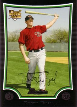 2009 Bowman Draft Picks Rusty Ryal Rookie Card