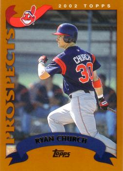2002 Topps Traded Ryan Church Rookie Card