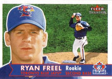 2001 Fleer Tradition Ryan Freel Rookie Card