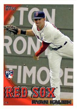 2010 Topps Update Ryan Kalish Rookie Card