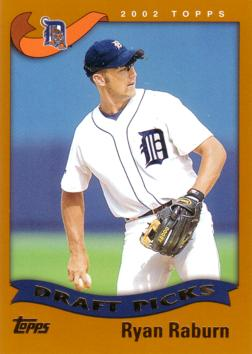 2002 Topps Ryan Raburn Rookie Card