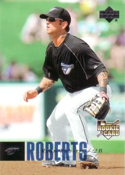 2006 Upper Deck Ryan Roberts Rookie Card