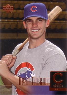 2001 Upper Deck Ryan Theriot Rookie Card