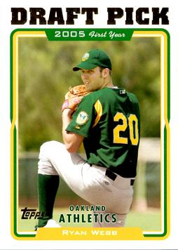 Ryan Webb Rookie Card