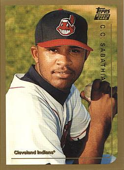 C.C. Sabathia Rookie Card