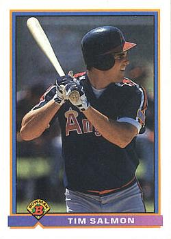 1991 Bowman Tim Salmon Rookie Card