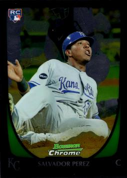 2011 Bowman Chrome Draft Picks Salvador Perez Rookie Card