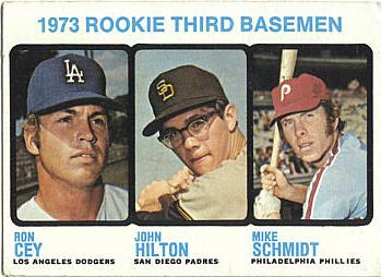1973 Topps Mike Schmidt Rookie Card