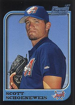 1997 Bowman Scott Schoeneweis Rookie Card