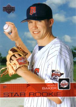 2003 Upper Deck Scott Baker Rookie Card