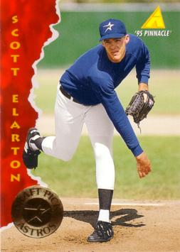 1995 Pinnacle Scott Elarton Rookie Card
