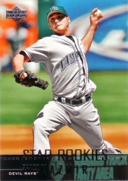 2004 Upper Deck Scott Kazmir Rookie Card