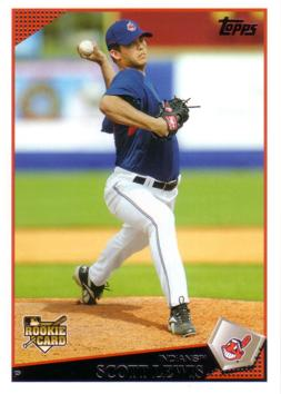 2009 Topps Scott Lewis Rookie Card