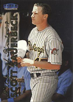 1999 Fleer Update Scott Sauerbeck Rookie Card