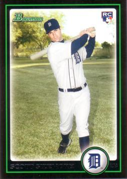 2010 Bowman Scott Sizemore Rookie Card