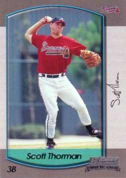 2000 Bowman Draft Picks Scott Thorman Rookie Card