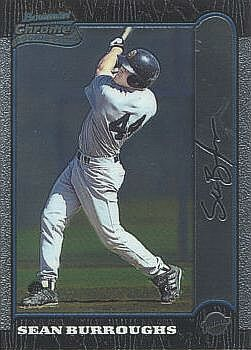 1999 Bowman Chrome Sean Burroughs Rookie Card