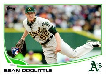 2013 Topps Sean Doolittle Rookie Card