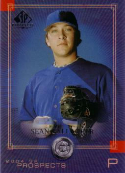 2004 SP Prospects Sean Gallagher Rookie Card