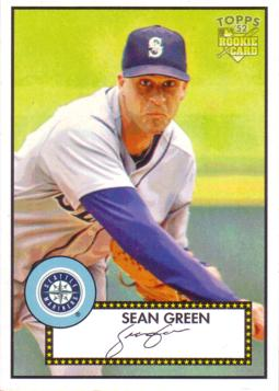 2006 Topps 52 Sean Green Rookie Card