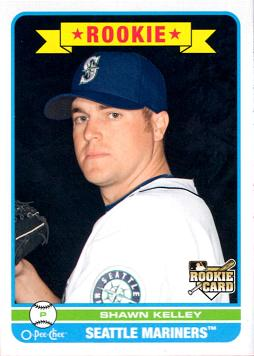 Shawn Kelley Rookie Card