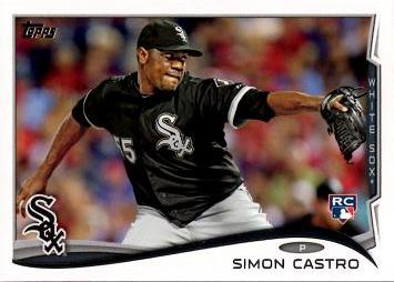 Simon Castro Rookie Card