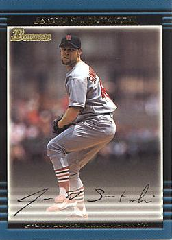 2002 Bowman Draft Picks Jason Simontacchi Rookie Card