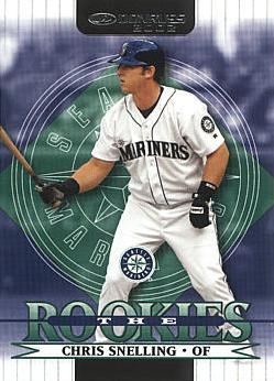 2002 Donruss The Rookies Chris Snelling RC