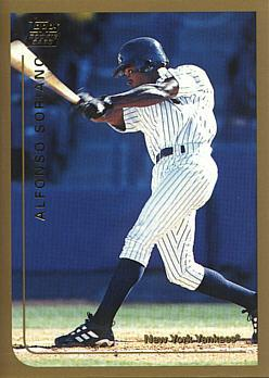 Alfonso Soriano Topps Traded Rookie Card